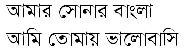 DestinyMJ (Bijoy) Bangla Font