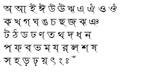 Rinkiy SushreeMJ Bangla Font