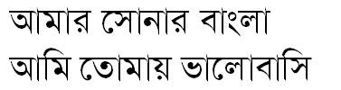 Banglapedia II (Lekhoni) Bangla Font