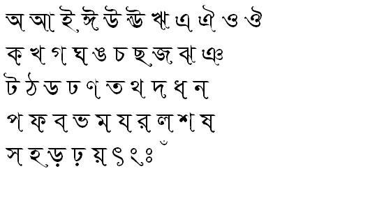 SutonnySushreeMJ Bangla Font