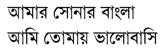 VillageII (Lekhoni) Bangla Font