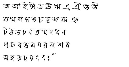 ChandrabatiOMJ Bangla Font
