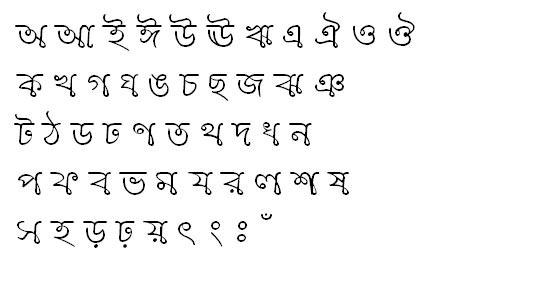 BorhalMJ Bangla Font