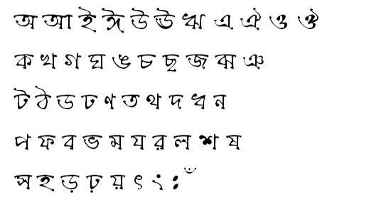 ChandrabatiMJ Bangla Font