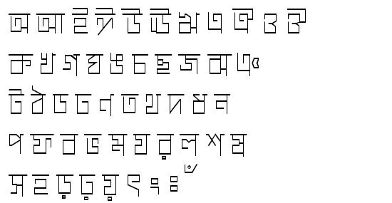 ChaturangaMJ Bangla Font