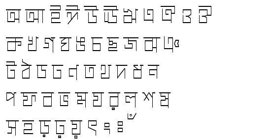 ChaturangaMJ Bangla Font
