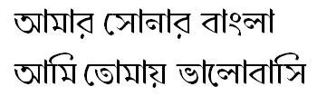 DhorolaMJ Bangla Font