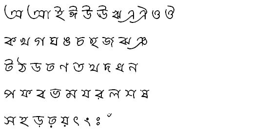 KeertankhulaMJ Bangla Font