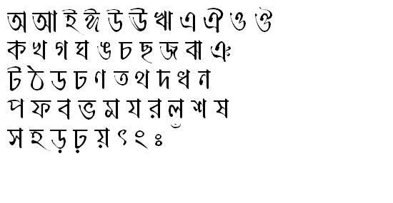 MeghnaMJ Bangla Font