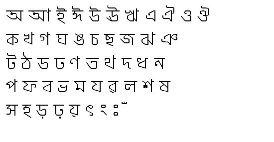 ModhumatiMJ Bangla Font