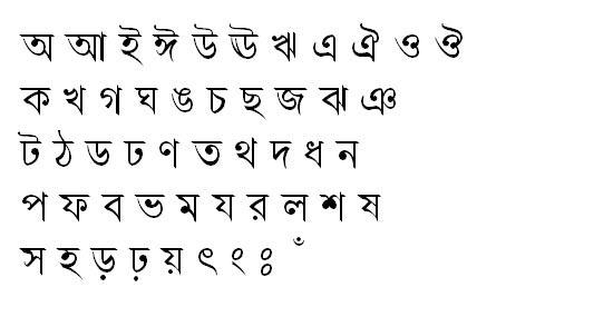 ChondanaMJ Bangla Font
