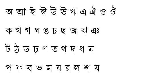 DhanshirhiMJ Bangla Font