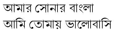 Nikosh Grameen Bangla Font