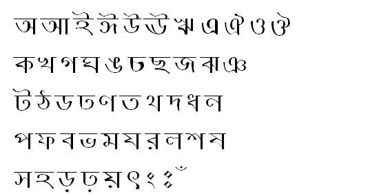 NorsundaMJ Bangla Font