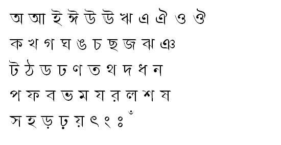 PunorvabaMJ Bangla Font