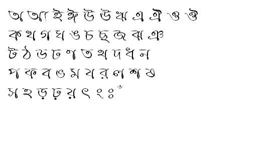 RupshaMJ Bangla Font