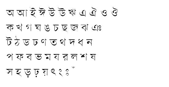 SamakalMJ (Bijoy) Bangla Font