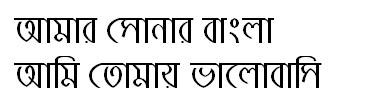 ShaldaMJ Bangla Font