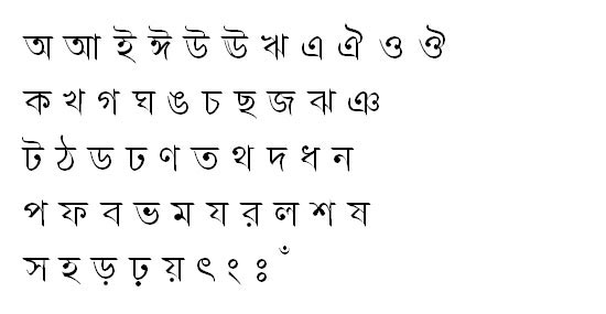 TangonMJ Bangla Font