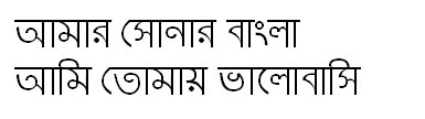 TuragMJ Bangla Font