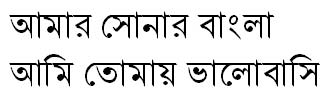 NikoshBAN Bangla Font