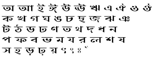 BurigangaOMJ Bangla Font