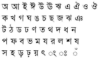 Ma_UI Bangla Font