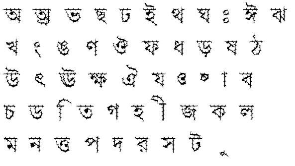 Progoty Cactus Bangla Font