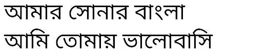 Noto Sans Bengali Bangla Font