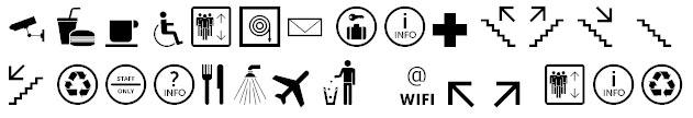 Symbol Signs Basisset Bangla Font