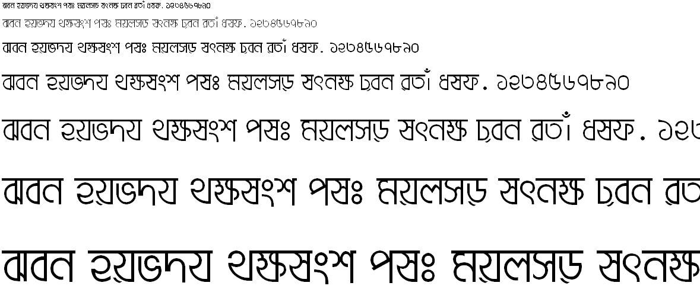 Adbid7 Bangla Font
