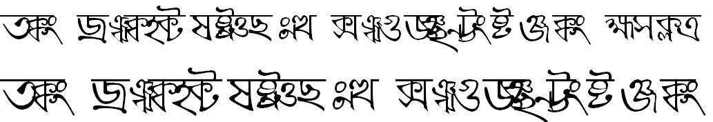 BN-TT-Kaali Bangla Font