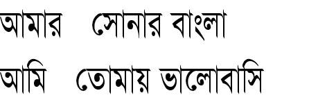 SulekhaTC Bangla Font