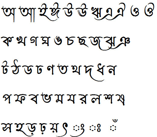 Lipishree Bangla Font