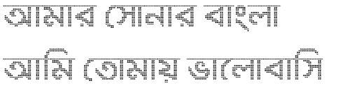 Fancy Digital Bangla Font