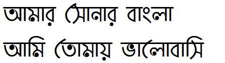 Paapri Bangla Font