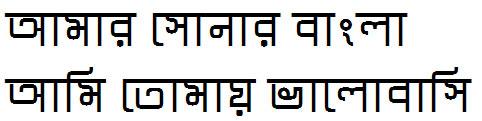 Tix Pix Bangla Font